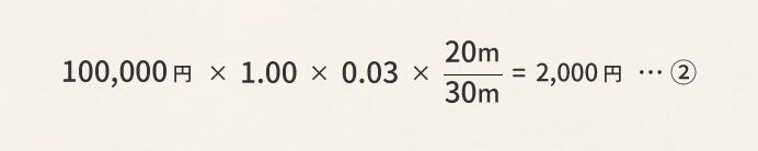 側方路線影響率を使った具体例