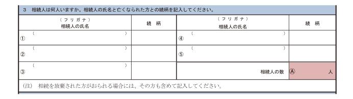 相続税の申告要否検討表(3)