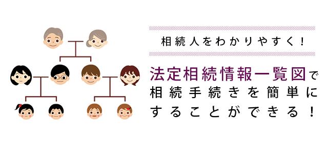 相続人をわかりやす!法定相続情報一覧図で相続手続きを簡単にすることができる!